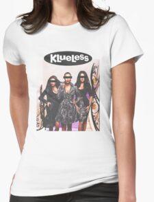 Klueless Womens Fitted T-Shirt