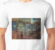Time is but a stream quote by Henry David Thoreau Unisex T-Shirt
