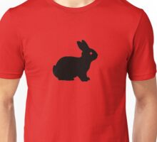 Simple Easter Bunny Unisex T-Shirt
