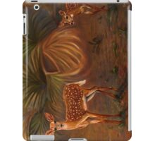 Fawns in the forest iPad Case/Skin