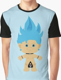 Punk Rocker Troll- Graphic T-Shirt