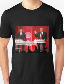 Republican Debate Mystery Science Theater 3000 Mashup Unisex T-Shirt