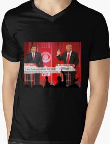 Republican Debate Mystery Science Theater 3000 Mashup Mens V-Neck T-Shirt