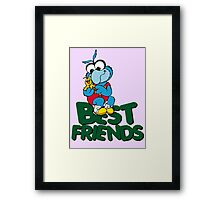 Muppet Babies - Gonzo & Camilla 01 - Best Friends Framed Print