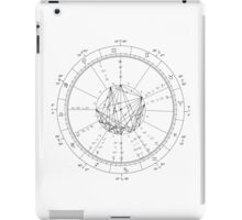 Astrological Chart (Large) iPad Case/Skin
