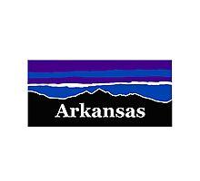 Arkansas Midnight Mountains Photographic Print
