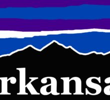 Arkansas Midnight Mountains Sticker