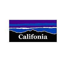 California Midnight Mountains  Photographic Print