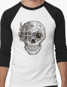 Steampunk Skull Men's Baseball ¾ T-Shirt