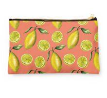 Lemons pattern Studio Pouch