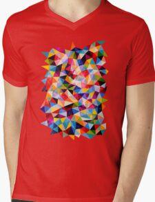 Space Shapes Mens V-Neck T-Shirt