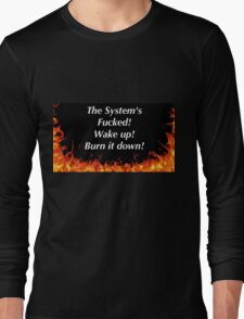 Political reform of the system Long Sleeve T-Shirt