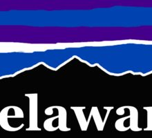 Delaware Midnight Mountains Sticker