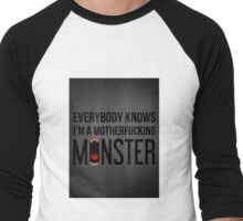 Monster Men's Baseball ¾ T-Shirt