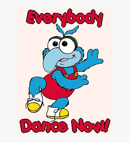 Muppet Babies - Gonzo 01 - Everybody Dance Now Photographic Print