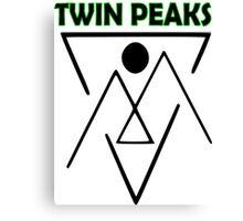 Twin Peaks- symbol Canvas Print