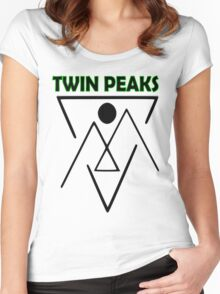 Twin Peaks- symbol Women's Fitted Scoop T-Shirt