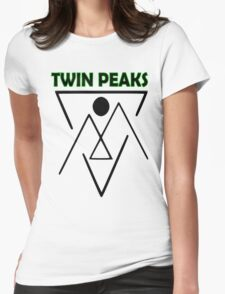 Twin Peaks- symbol Womens Fitted T-Shirt