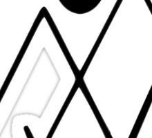 Twin Peaks- symbol Sticker