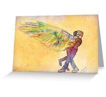 Destiel Hug Greeting Card