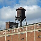 Warehouse Water Tower by Ethna Gillespie