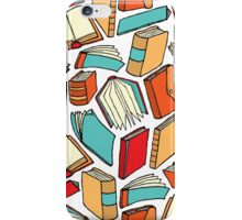 Seamless book pattern or Background wallpaper iPhone Case/Skin