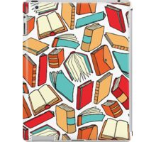 Seamless book pattern or Background wallpaper iPad Case/Skin