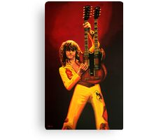 Jimmy Page Painting Canvas Print