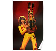 Jimmy Page Painting Poster