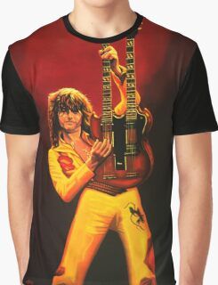 Jimmy Page Painting Graphic T-Shirt