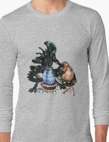 Time to Paint the Eggs Long Sleeve T-Shirt