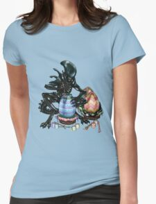 Time to Paint the Eggs Womens Fitted T-Shirt