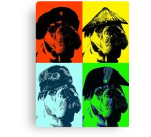 Bull Dog: International Assassin  Canvas Print