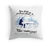 BTS - Suga - Butterfly Throw Pillow