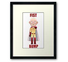 Fist Bump! Framed Print