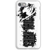 Fairy Tail Splash  iPhone Case/Skin