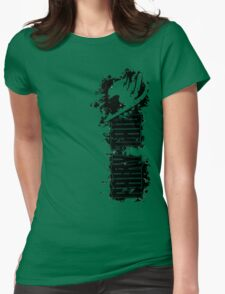 Fairy Tail Splash  Womens Fitted T-Shirt