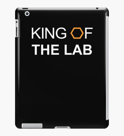King Of The Lab iPad Case/Skin