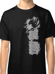 Fairy Tail Splash Grey Classic T-Shirt