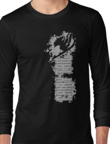 Fairy Tail Splash Grey Long Sleeve T-Shirt