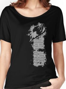 Fairy Tail Splash Grey Women's Relaxed Fit T-Shirt