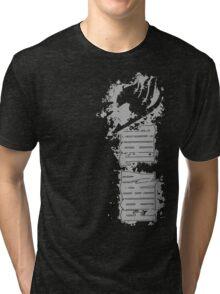 Fairy Tail Splash Grey Tri-blend T-Shirt