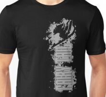 Fairy Tail Splash Grey Unisex T-Shirt