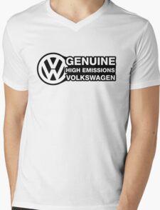 Genuine High Emissions VW Mens V-Neck T-Shirt