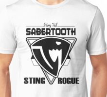 Sabertooth Triangle Unisex T-Shirt