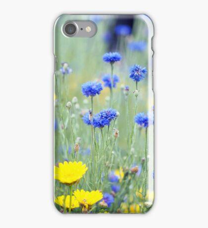 Cornflowers and Daisies iPhone Case/Skin