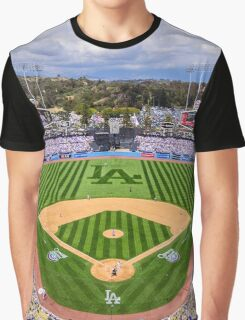Dodgers Baseball Graphic T-Shirt