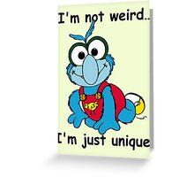 Muppet Babies - Gonzo 02 - I'm Not Weird... Greeting Card