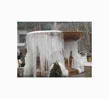 Frozen Fountain, Icicles, Bryant Park, New York City T-Shirt