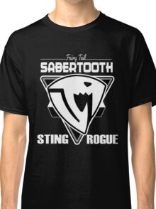 Sabertooth Triangle White Classic T-Shirt